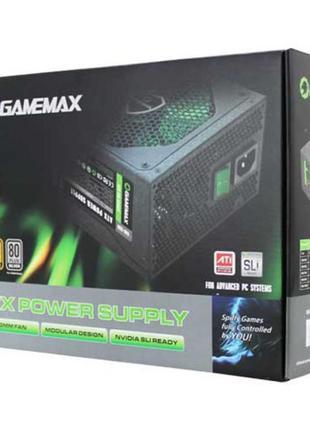 Блок питания GameMax GM-600 600Вт Уценка(потёртая упаковка, нет д