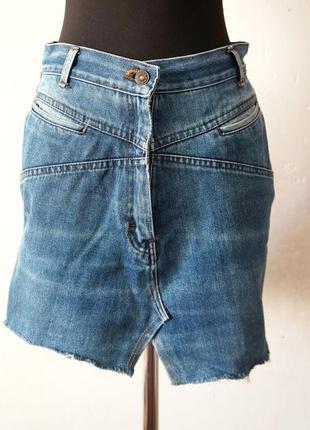 Юбка джинсовая винтажная джинса