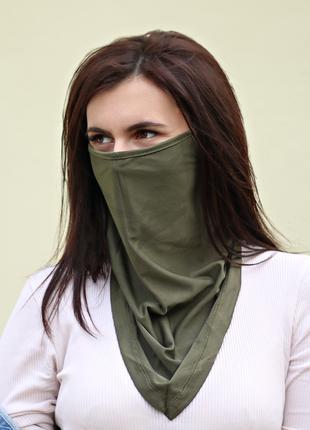 Маска шарф от ветры и пыли повседневная Балаклава, бафф Женский