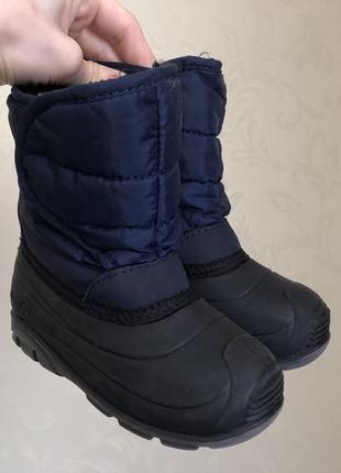 Сапоги на меху снегоходы kamik стелька 15см