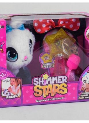 Сияющий питомец Кошечка Shimmer Stars мягкая игрушка кошка