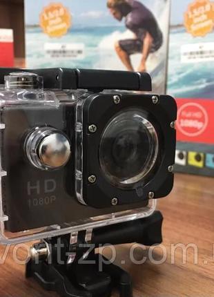 Экшн-камера Sports Action Camera Full HD A7, защита gopro