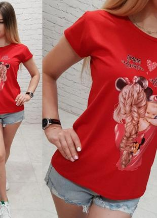 Женская футболка Мама Турция