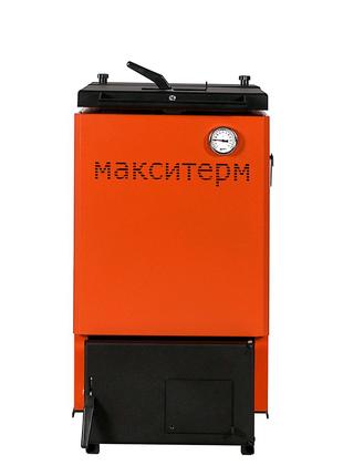 Шахтный котел длительного горения Макситерм Шахта Классик 12