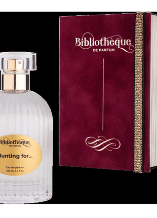 """Нишевый парфюм bibliotheque de parfum """"hunting for"""" купить в у..."""