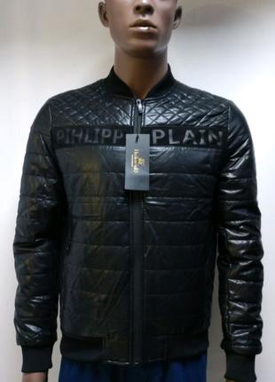 Курточка мужская демисезонная кожзаменитель