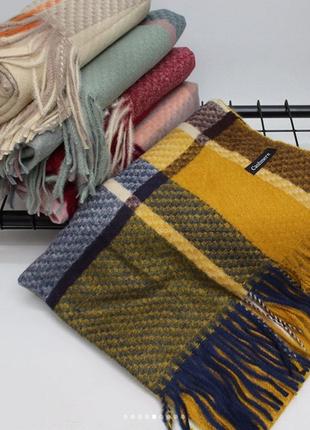 Кашемировый шарф-палантин, все расцветки