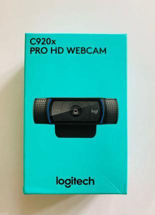 Веб камера Logitech c920 New. В наличии + Мин. цена. Гарантия !