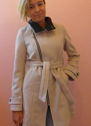 Пальто кашемировое для девочки подростка