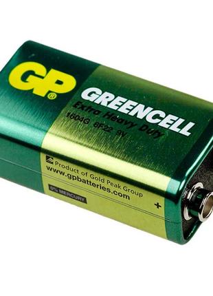 Батарейка крона GP Greencell 9 V , 6F22