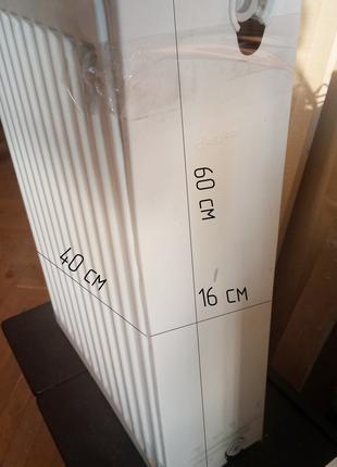 Радиатор стальной DayLux 40х60х16см+комплект подключения