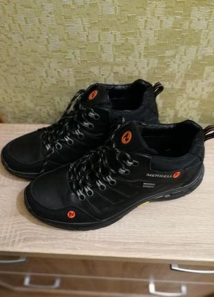 Кожаные зимние ботинки MERRELL