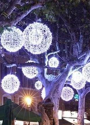 Олени, шары, снежинки, елки, фигуры собственного производства