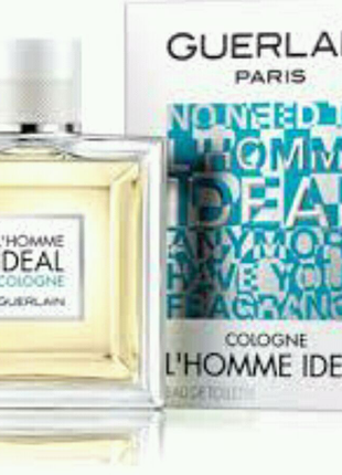 Духи мужские Guerlain L'Homme Ideal Cologne