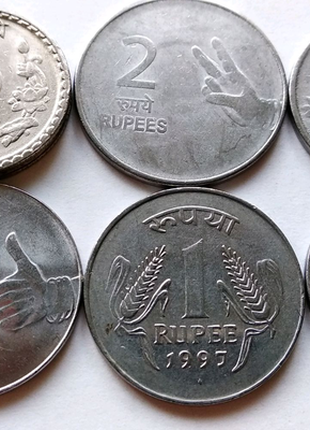 Продам набор монет Индии