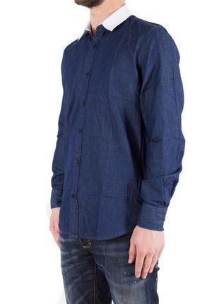 Рубашка темно синяя antony morato