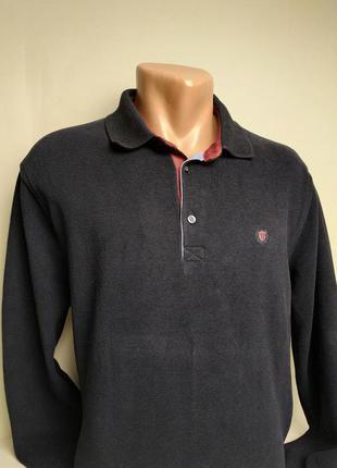 Универсальный, стильный пуловер с воротничком, мягкий велюр