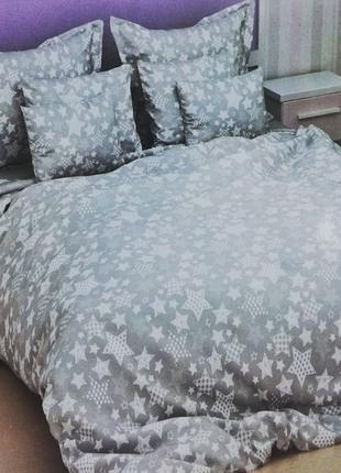 Хлопковое постельное белье Casa de Lux Sateen