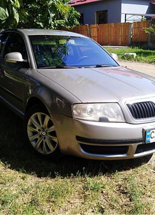 Продам Skoda superB 2007 1.8t газ
