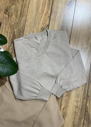 Пуловер , джемпер шерсть 100%