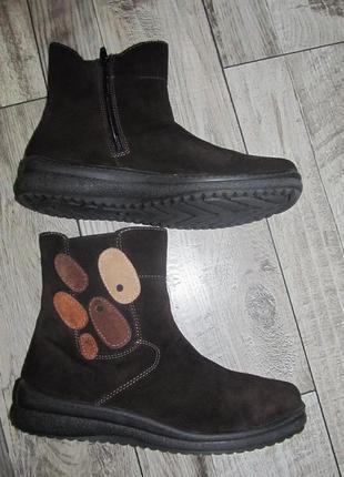 Замшевые ботинки jenny by ara р. 39 -25см