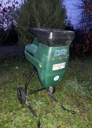 Немецкий шредер садовый измельчитель веток CMI Atika 2500W 40mm