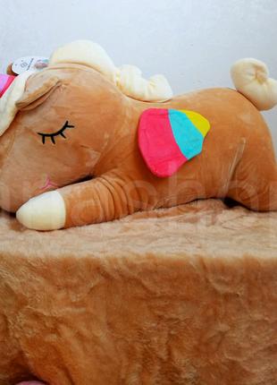 Детская подушка игрушка с пледом, плед игрушка для детей