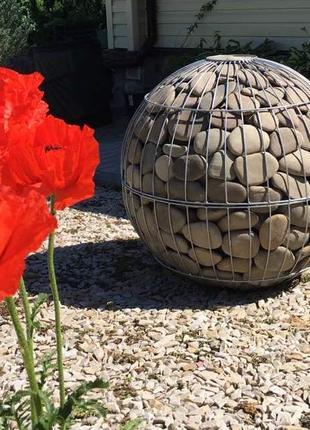 Каркас шар-габион из проволоки