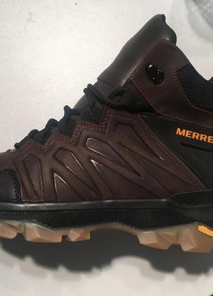 Ботинки/кроссовки натуральная кожа merrell