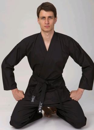 Кимоно для каратэ MATSA MA-0017 (хлопок-плотность 240г на м2