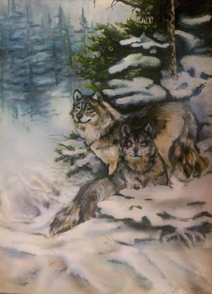 Картина маслом, Волки, Верность