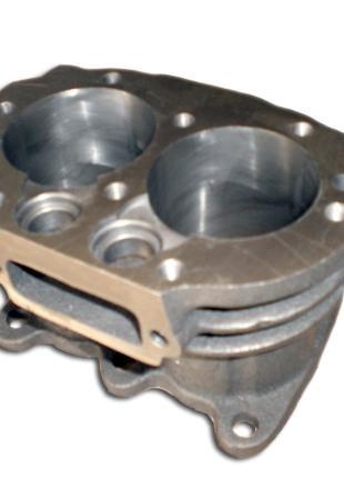 Блок цилиндров компрессора воздушного КАМАЗ (5320-3509030)