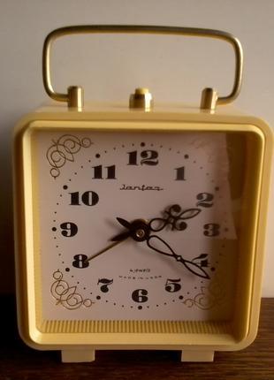 Часы – будильник «JANTAR» («ЯНТАРЬ»), ОЧЗ, СССР, 70-е годы.