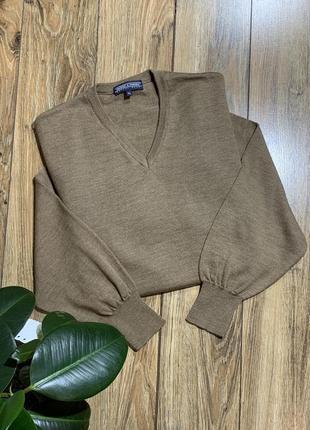 Пуловер, свитер шерсть 100% warren&parker