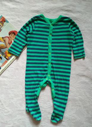 Человечек комбинезон слип на 3-6 месяцев mothercare