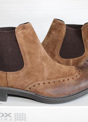 Ботинки челси geox kapsian. италия. размер 44. ecco