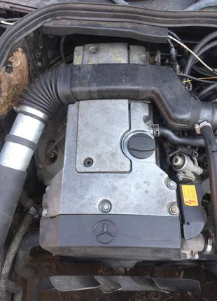 Двигатель мотор с МКПП Mercedes W202 C180 1.8i 1995