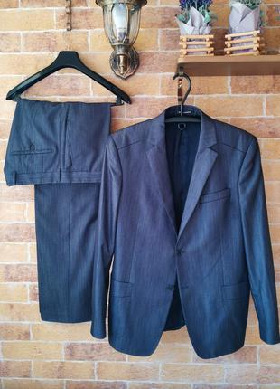Классный костюм ANTONI ZEEMAN на рост +-182 и 4 рубашки M&S, XL