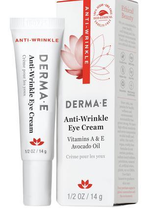 Крем для кожи вокруг глаз с витаминами А и Е Derma E США