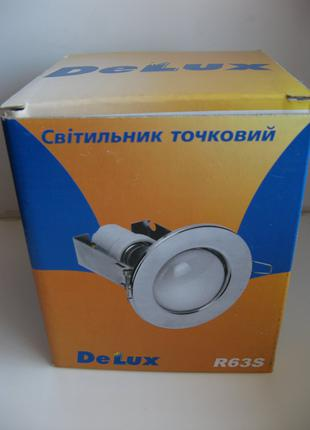 Точковий світильник DELUX R63S золото