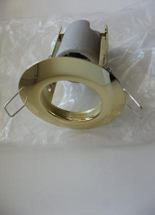 Светильник точечный LUMEN R39 золото Е14