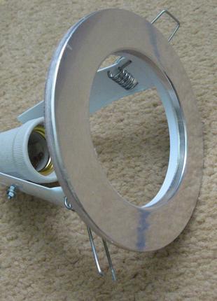 Светильник точечный R80 E27 Хром