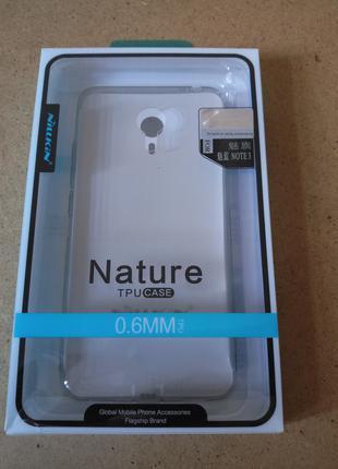 Nillkin Nature отличный фирменный TPU чехол для Meizu M3 Note