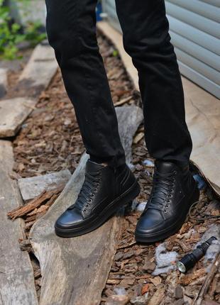 Кожаные ботинки от производителя flamanti, шкіряні черевики ві...