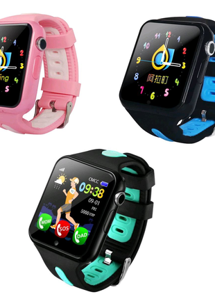 Детские часы Smart Baby watch V5K SIM +GPS