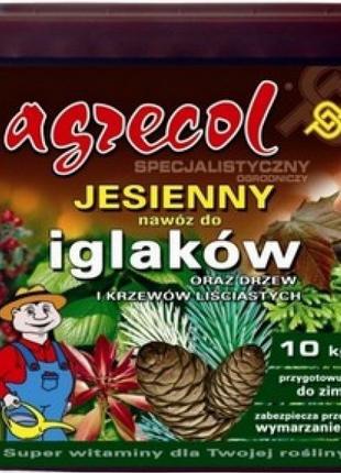 Удобрение Agrecol (Агрикол) осеннее для хвойных растений 10 кг