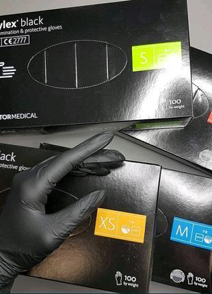 Перчатки медицинские нитриловые одноразовые nitrylex basic оптом
