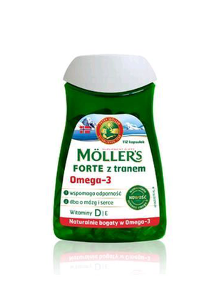 Mollers omega 3. Капсул 112 шт