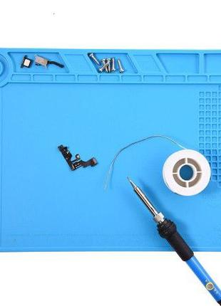 Коврик для пайки силиконовый термостойкий защитный и ремонтов ...