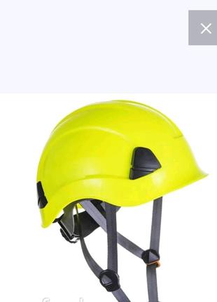 Защитная каска Portwest. новая. желтый.